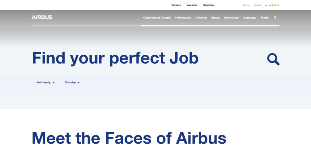 Jobs bei Airbus Defence & Space