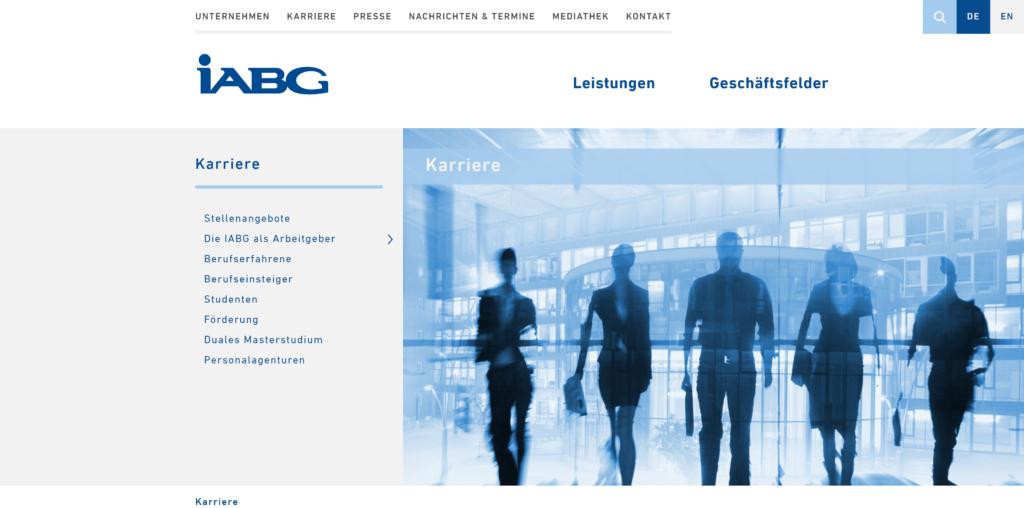 Jobs bei der IABG Industrieanlagen - Betriebsgesellschaft mbH